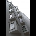 Close up photo of bay windows
